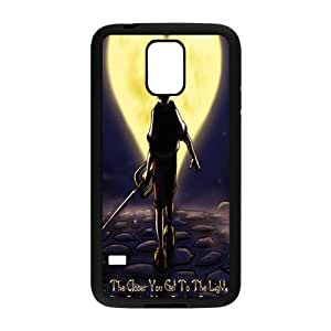 Cartoon Cool Fashion White Phone Case for SAMSUNG S5