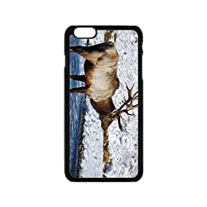 The Deer And Snow Hight Quality Plastic Case for Iphone 6