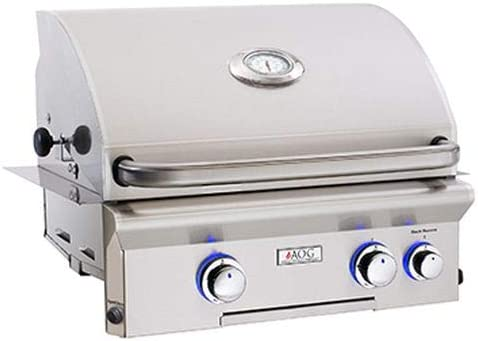 AOG 24NBL-R 24 L-Series Built-in Grill with Halogen Lights NG