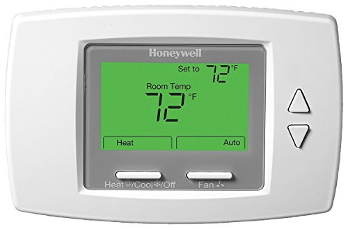 Honeywell TB8575A1000 SuitePRO 24 VAC 2 or 4 Pipe 3-Speed Fan Coil Thermostat with Manual/Auto Heat or Cool Changeover