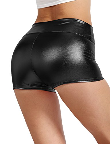 Cosplay Costumes For Sale In Cheap Price (J. LOVNY Womens Sexy Shiny Metallic Waist Shorts Made In USA S-3XL)