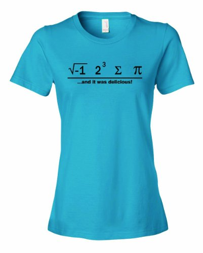 Ladies I Ate Some Pie And It Was Delicious Math Ate Sum Pi T-Shirt