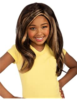 Girls Bratz Sasha Rocks Wig - Child Std.