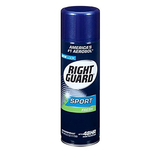 Right Guard Antiperspirant Spray, Sport Fresh 6 oz (Pack Of 4)
