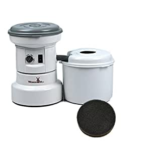 Premium WonderMill Wheat Grinder bundled with Spare Filter for extended use! | Formerly Whisper Mill | WonderMill Electric Grain Mill (Canister included) Best Electric Wheat Grinder on the Market-