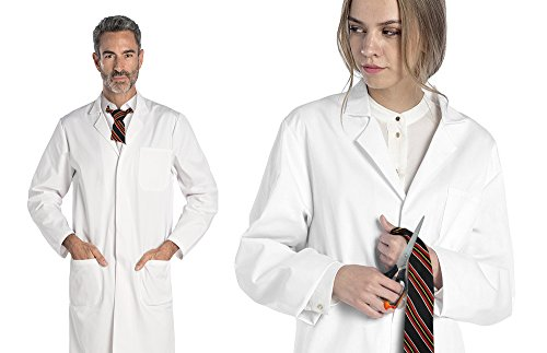 Deluxe Student Lab Kit - Dr. James Unisex White Lab Coat & Stylish Anti-Fog Safety Glasses (Halloween Costumes 2017 College)