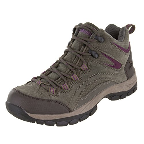 Northside Women's Pioneer Hiking Boot, Stone/Berry, 9 B(M) US