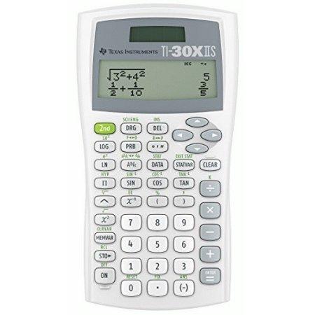 Texas Instruments TI-30X IIS 2-Line Scientific Calculator - White (Calculator Ti 30x compare prices)