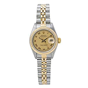 Best Epic Trends 41I1v%2BQomHL._SS300_ Rolex Datejust Swiss-Automatic Female Watch 69173 (Certified Pre-Owned)