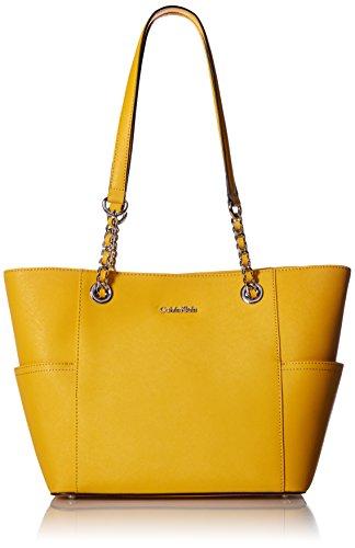 Calvin-Klein-Saffiano-Chain-Tote-Bag