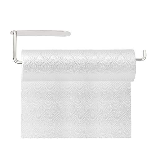 Maexus Küchenrollenhalter ohne Bohren, Papierrollenhalter Küchenrollenhalter Edelstahl Küchenrollen Halter Rollenhalter Küchenrolle 12 Zoll