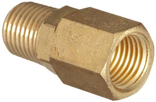 - Dixon D344R Brass Air Hose Fitting, In-Line Swivel, 1/4