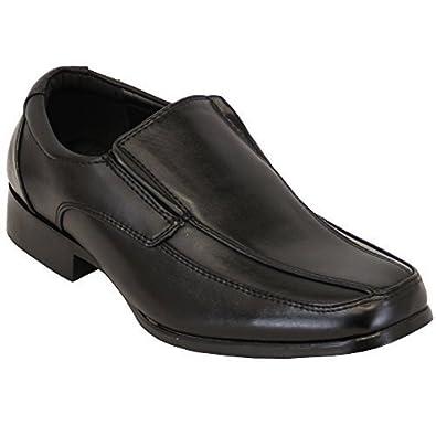 École Enfants Allure Jeunesse Chaussures Garçon Habillé À Cuir f76bygY