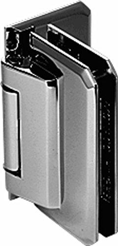 C.R. LAURENCE M0N244BN CRL Brushed Nickel Monaco 244 Series Wall Mount Offset Back Plate Hinge ()
