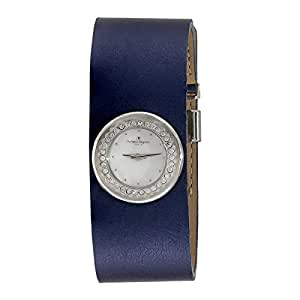 Regnier Classic Women's White Dial Leather Band Watch - PG123C