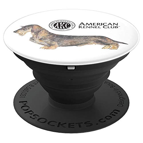 AKC Wirehaired Dachshund PopSocket - PopSockets Grip and Stand for Phones and Tablets
