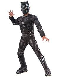 Costume Captain America: Civil War Deluxe Black Panther Costume, Medium