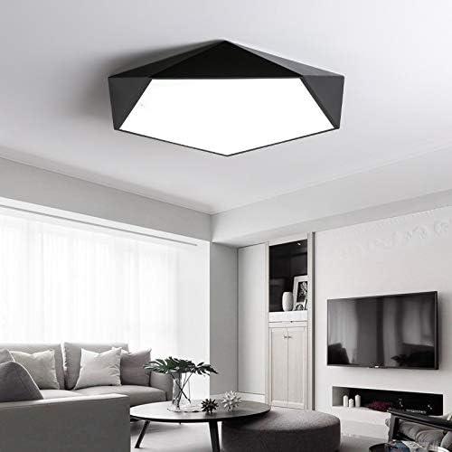 JYDQM Led kreative geometrische Kunst Beleuchtung Deckenlampe for Wohnzimmer-Lampe Studie Flur Balkon Deckenleuchten