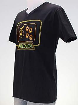 Arcade. Camiseta azul o negra de chico.: Amazon.es: Handmade