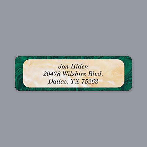 (2070pk Elegant Marble Label-Address Labels & Icing)