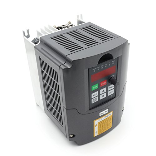 3KW 220V 4HP 3 Phase 13A VFD Variable Frequency Drive Inverter Professional VSD Variable Frequency Drive for CNC Router Milling Spindle Motor Speed - Ac Drive Phase 3