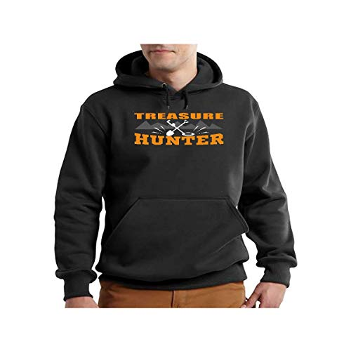 Men's Treasure Hunters Metal Detector Hunting Gear Tracker Shirt - Hoodie