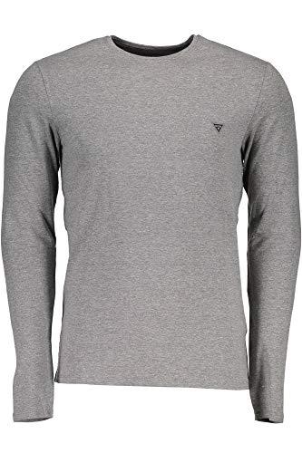 Lunghe M84i00j1300 shirt Mch Guess Grigio Maniche T Jeans Uomo ROBRwHq