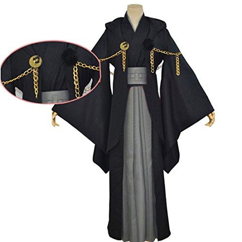 Gokotai Costume (COSROOM Touken Ranbu Tsurumaru Kuninaga Kimono Cosplay Costume Female L)