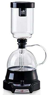 Diguo New High Quality Glass Syphon Coffee Maker Electric Knob Type Coffee Pot Espresso Coffee Maker Machine Pot