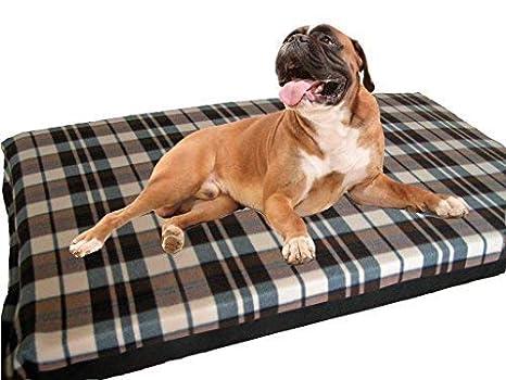 KosiPet - Colchón de espuma de alta densidad para perros, tamaño grande, impermeable, con forro polar; cama para perros.: Amazon.es: Productos para mascotas