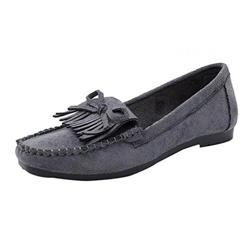 Zapatos de mujer de fondo suave, Covermason Zapatillas slip-on sin cordones para mujeres Frige Round Head: Amazon.es: Ropa y accesorios