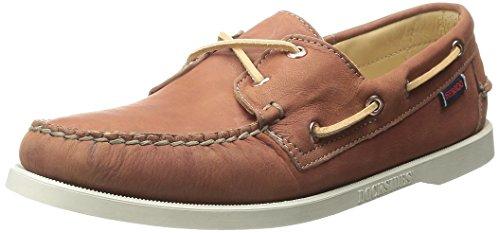 SebagoDocksides - Náuticos mujer Saddle Tan Leather