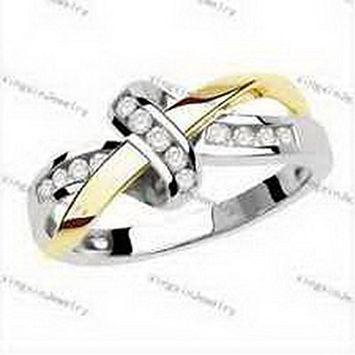 jacob-alex-ring-size6-white-crystal-bow-knot-cross-ring-10k-white-yellow-gold-filled-jewelry