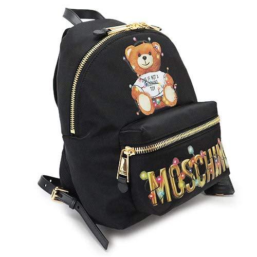 [モスキーノ] MOSCHINO リュックサック バックパック Teddy Bear Holiday テディベア 3XA7699 8260 1555 2019年春夏 [並行輸入品]   B07MG4DLJS
