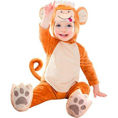 Super Cute Costume Infant - Big Kids (6-12 M, Monkey) -