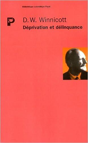 En ligne téléchargement Déprivation et délinquance pdf ebook