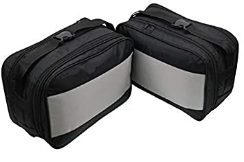 2 Bolsillos Interiores para Motocicletas BMW Vario, Modelos F650 GS,F700 GS,F800 GS,R1200 GS