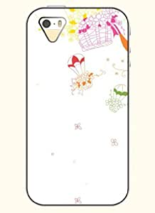 OOFIT Phone Case design with Flowers Balloons for Apple iPhone 4 4s 4g