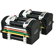 New Powerblock U70 Stage1 Adjustable Dumbbells Exercise Fitness Weights 2-18kg by Power Block