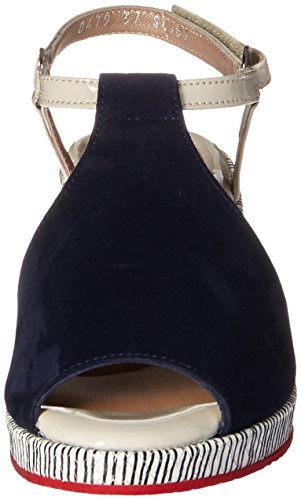 BeautiFeel Women's Kya Dress Sandal Navy Suede/Line Art hot sale online buy cheap purchase geniue stockist cheap price from china for sale WhPdhD