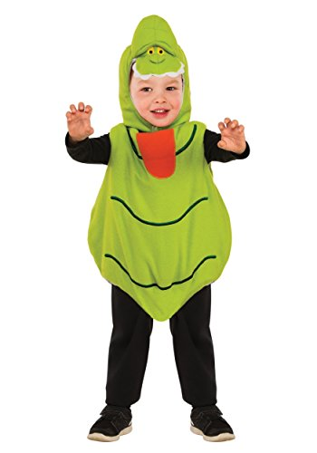 Rubie's Baby's Classic Ghostbusters EZ-On Slimer Romper Costume, Green, Toddler 3T-4T -