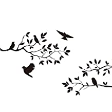 Changeshopping Tree Bird Removable Wall Sticker Vinyl Art Decal Mural Home DIY Decor