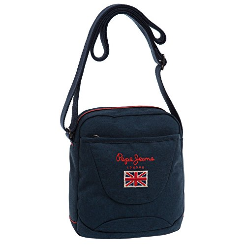Pepe Jeans 7285352 Soho Borsa Messenger, 2.78 Litri, Blu