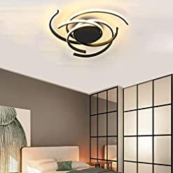 Interior Lighting Phlilqe LED Ceiling Light Dimmable Chandelier Living Room Kitchen with Remote Control Hanging Lamp, Modern Dining Room… modern ceiling light fixtures