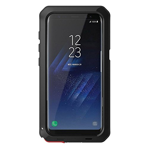 Galaxy S9 Plus Case,Bixby Button Water Resistant Shockproof Aluminum Metal Super Anti Shake Silicone Fully Body Protection for Samsung Galaxy S9 Plus-2018 Newest Released