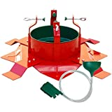 Santa's Solution Supreme Deluxe Christmas Tree Stand for Live Christmas Trees up to 12 Feet Tall