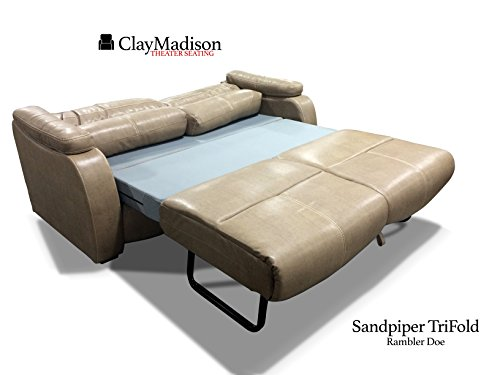 Sandpiper trifold luxury rv clay madison seating rv for Sofa bed jeddah