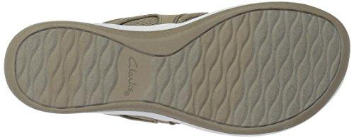 Clarks Vrouwen Arla Marina Flip-flop Zand Synthetische / Textiel Combi