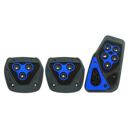 Car Gas Pedal, Padded Brake Manual Clutch Pedal Pad Kit