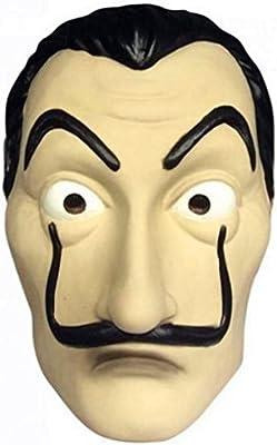 Amazon com: koobea Salvador Dali Mask Money Heist Face Mask La Casa